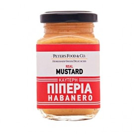 "Real Mustard Καυτερή Πιπεριά Habanero ""Peter's Food & Co"""
